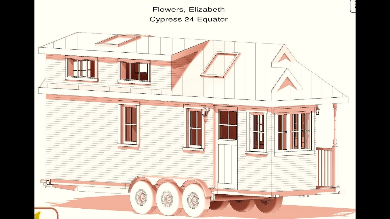 tumbleweed tiny house plans cypress 24