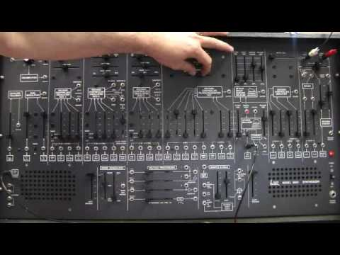 arp 2600 semi modular synthesizer demo youtube. Black Bedroom Furniture Sets. Home Design Ideas