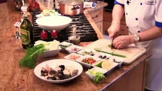 Cold Italian Poached Seafood Salad : Great Italian Eats