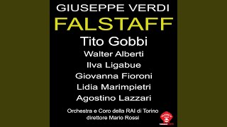Falstaff: Atto primo parte seconda