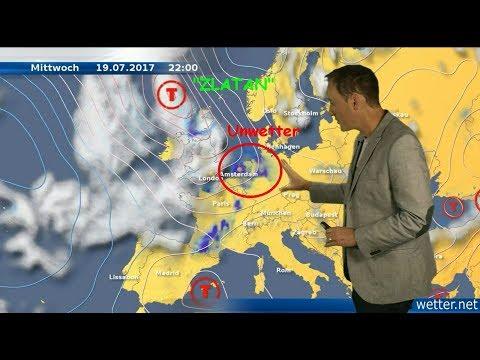 Wo gibt´s  heute Tornados? (Mod.: Dominik Jung)