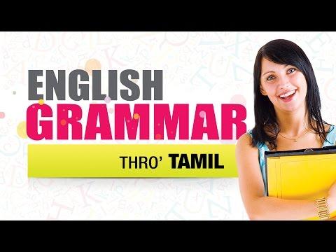 Basic English Grammar Through Tamil    Part 02   Learn English Through Tamil