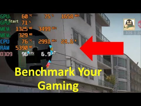 (Hindi) How To Monitor Frame Rate, CPU Usage And GPU Usage In Games | Benchmark Your Gaming | Cs Go