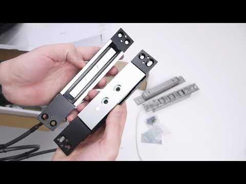 видео: Сдвиговые врезные электромагнитные замки ЭМЗ-500 sl-500