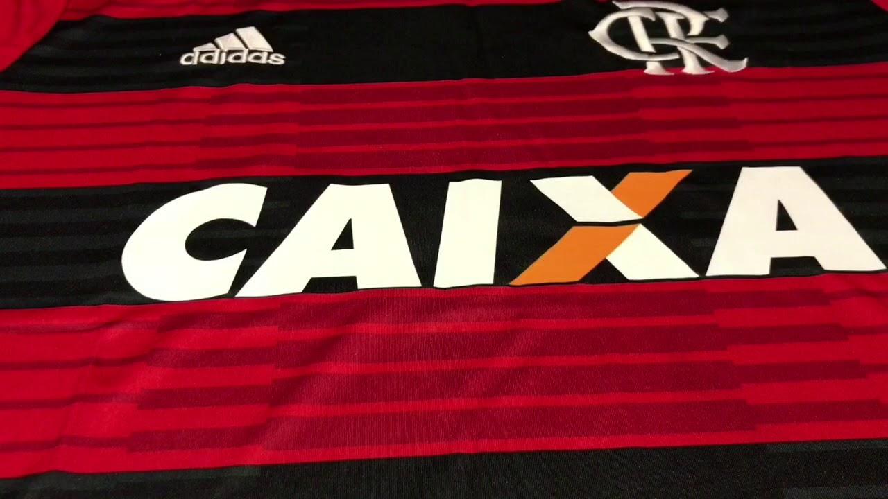 a0d904c7a5 Nova Camisa Flamengo 2018 2019 - YouTube