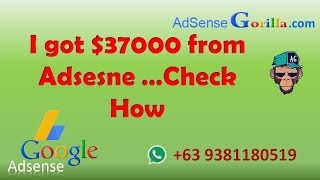 Our AdSense Earnings Journey from $0 to $37,442