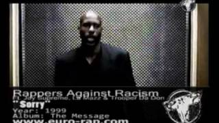 Rappers Against Racism Ft. Jay Supreme, Trooper Da Don & La Mazz - Sorry (1999)
