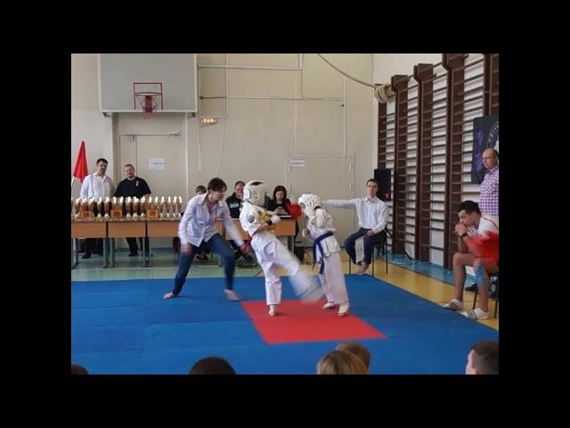 Первенство и Чемпионат Курортного района СПб по Киокусинкай🥋 14.04.2019