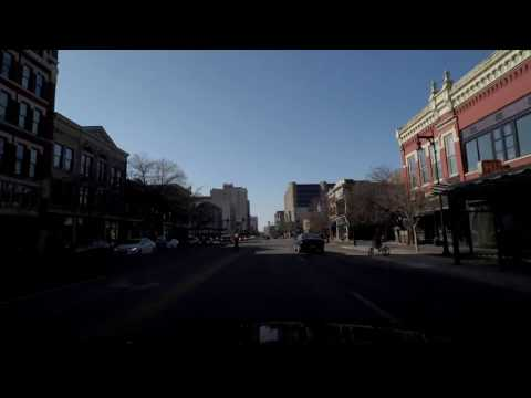 Driving in Wichita, KS: Downtown