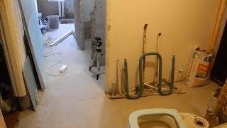 Бюджетный ремонт в 3-х комнатной квартире ч.1
