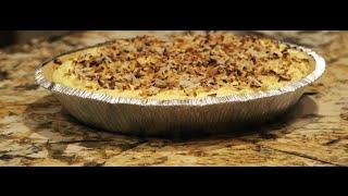Pie / No Bake Coconut Cream Pie Recipe / Happy Easter / Cheryls Home Cooking