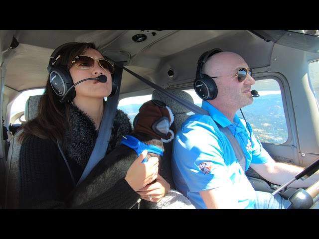 Flying From San Carlos KSQL To Monterey Bay Academy Airport CA66