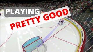 NHL 15 Trolling on Ice #1 - Playing PRETTY GOOD