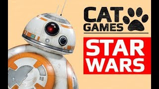 CAT GAMES - 🤖 STAR WARS FOR CATS (Entertainment Video for Cats to Watch)
