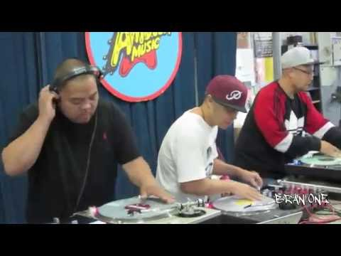 Invisibl Skratch Piklz The 13th Floor Amoeba Records Berkeley  9/3/16