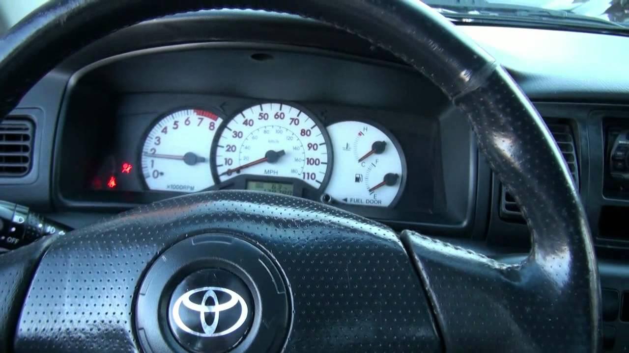 Toyota Corolla S 2003 Blue