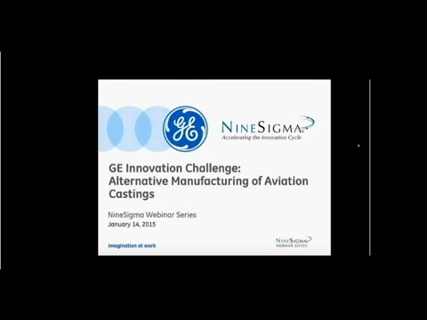 GE Innovation Challenge: Alternative Manufacturing of Aviation Castings