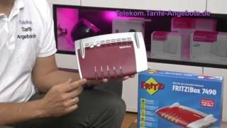 Vorstellung AVM FritzBox 7490 für Telekom DSL / VDSL / Entertain