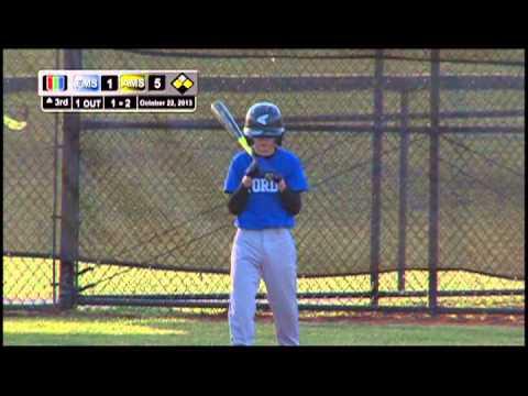 Middle School Baseball: Avenel vs Fords 10/23/13