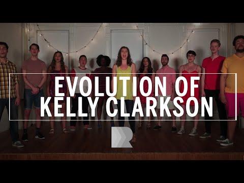 Evolution of Kelly Clarkson - RANGE a cappella