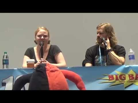 Melissa Hutchison and Gavin Hammon Q and A At OMG!Con 2015 Part 1 of 2