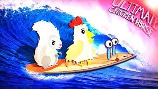 Maudado und Mexify sind Surfer!? | Ultimate Chicken Horse