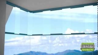 Панорамное остекление для Терас(Официальный представитель компании