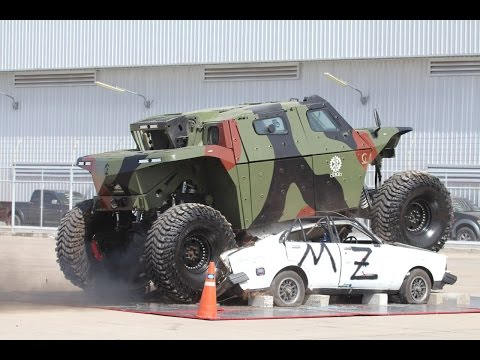 CombatGuard 4x4 combat armoured vehicle Extreme Rough Terrain IMI Israel Military Industries demo