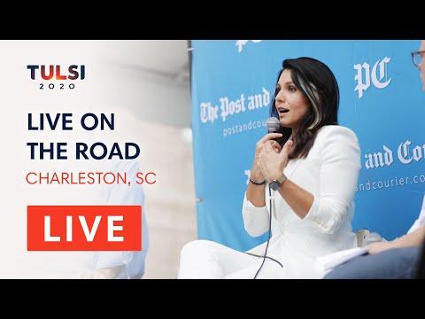 Tulsi Gabbard LIVE On The Road - Charleston Pints & Politics - Charleston, SC