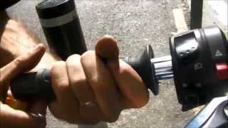 Peachy's Place: How to change handlebars on a motorcycle