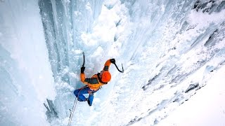 Ueli Steck - Ice climbing - The SITTA project (outtakes)