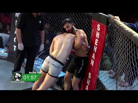 FA5: Uproar Mehmosh Raza vs Haroon Sohail Durrani Pakistan MMA Mixed Martial Arts