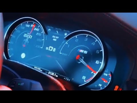 850HP BMW M5 COMPETITION F90 0-200 Acceleration & Sound