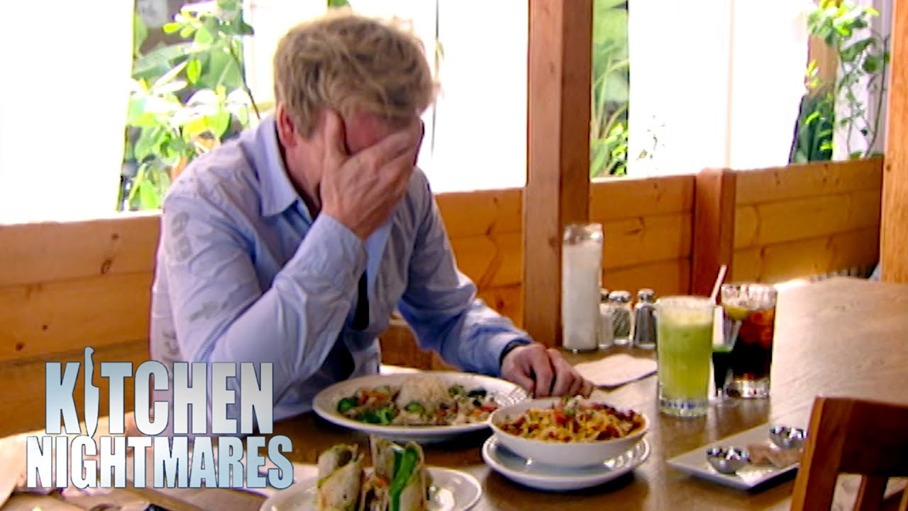 Download Gordon Ramsay Can't Stop Laughing At The Food | Kitchen Nightmares