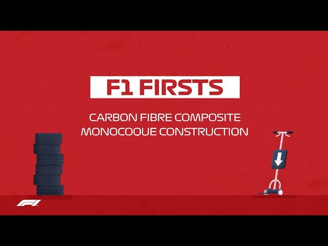 F1 Firsts: Carbon Fibre Monocoques