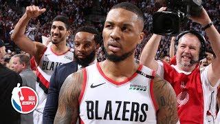 Damian Lillard's game-winning shot sends the Thunder home in Game 5 | 2019 NBA Playoff Highlights