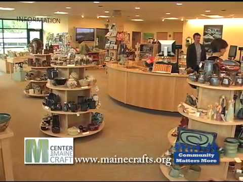 Center for Maine Crafts WCSH public service annoucnement