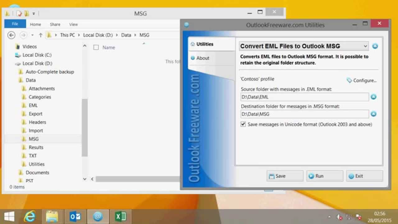 EML format - what to open and how to work with it