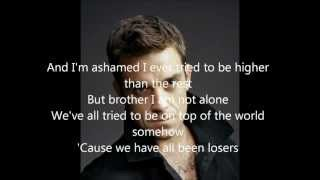 Robbie Williams - Losers lyrics HD (new song from album Take The Crown)