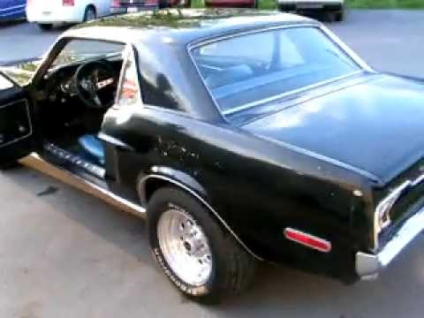 Juiced 68 Mustang 1968 Black Ford Mustang Coupe 302 V8