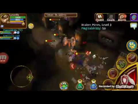 Farminn Kraken Mines 3 (Arcane Legends)