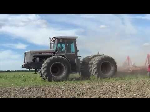 Spring Tillage In Ohio With An Agcostar 8425 Tractor