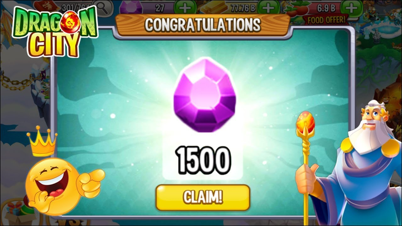 Dragon City - How to get 1500 Gems Reward for FREE 2020 😍 - YouTube