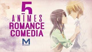 5 animes de comedia y romance || romance pt.1