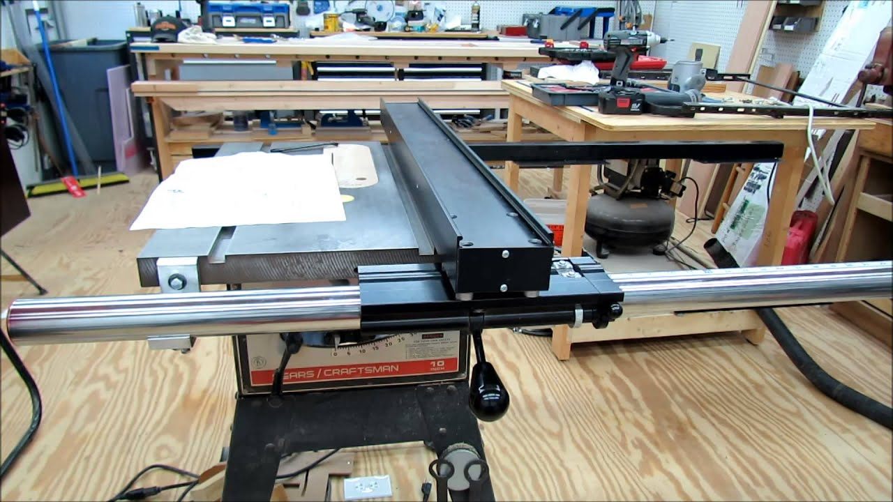 Jet Table Saw Fence System