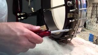 NoteAble Repair: Setup Tips/Tricks # 1 banjo head removal