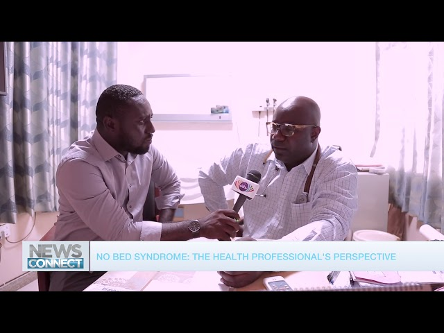 No-beds syndrome: News Connect visits health personnel