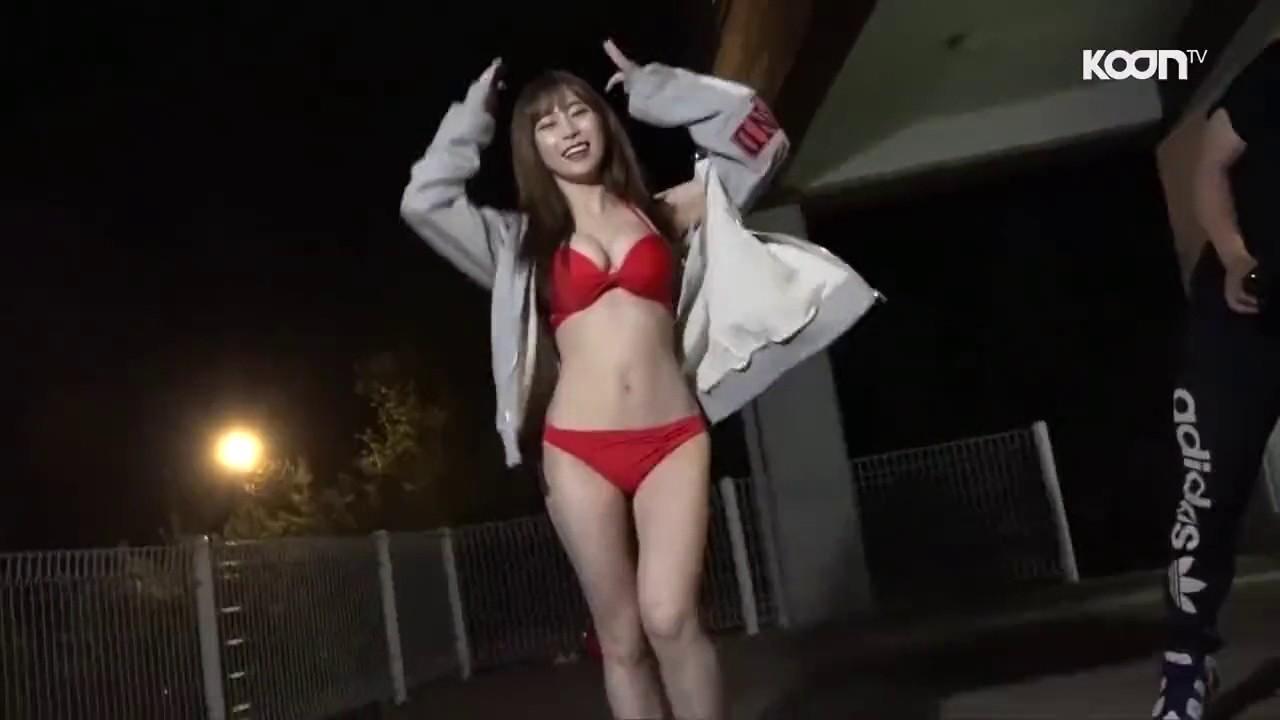 Japanese bikini dance