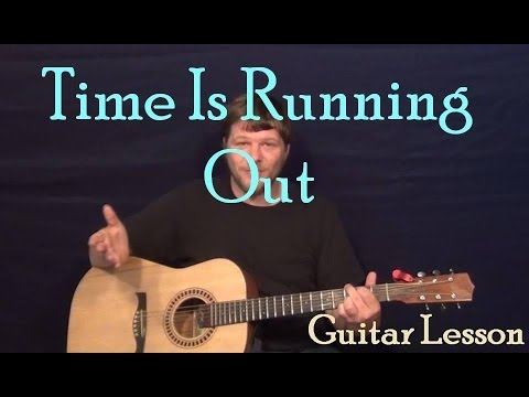 Time Is Running Out (Muse) Easy Guitar Lesson How To Play Strum Chords Tutorial