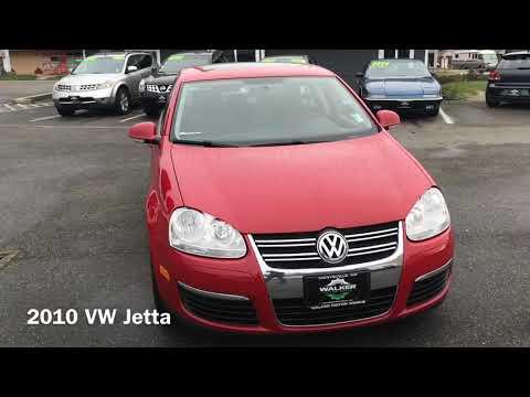 2010 VW Jetta for sale at Walker Motor Works in Marysville Wa